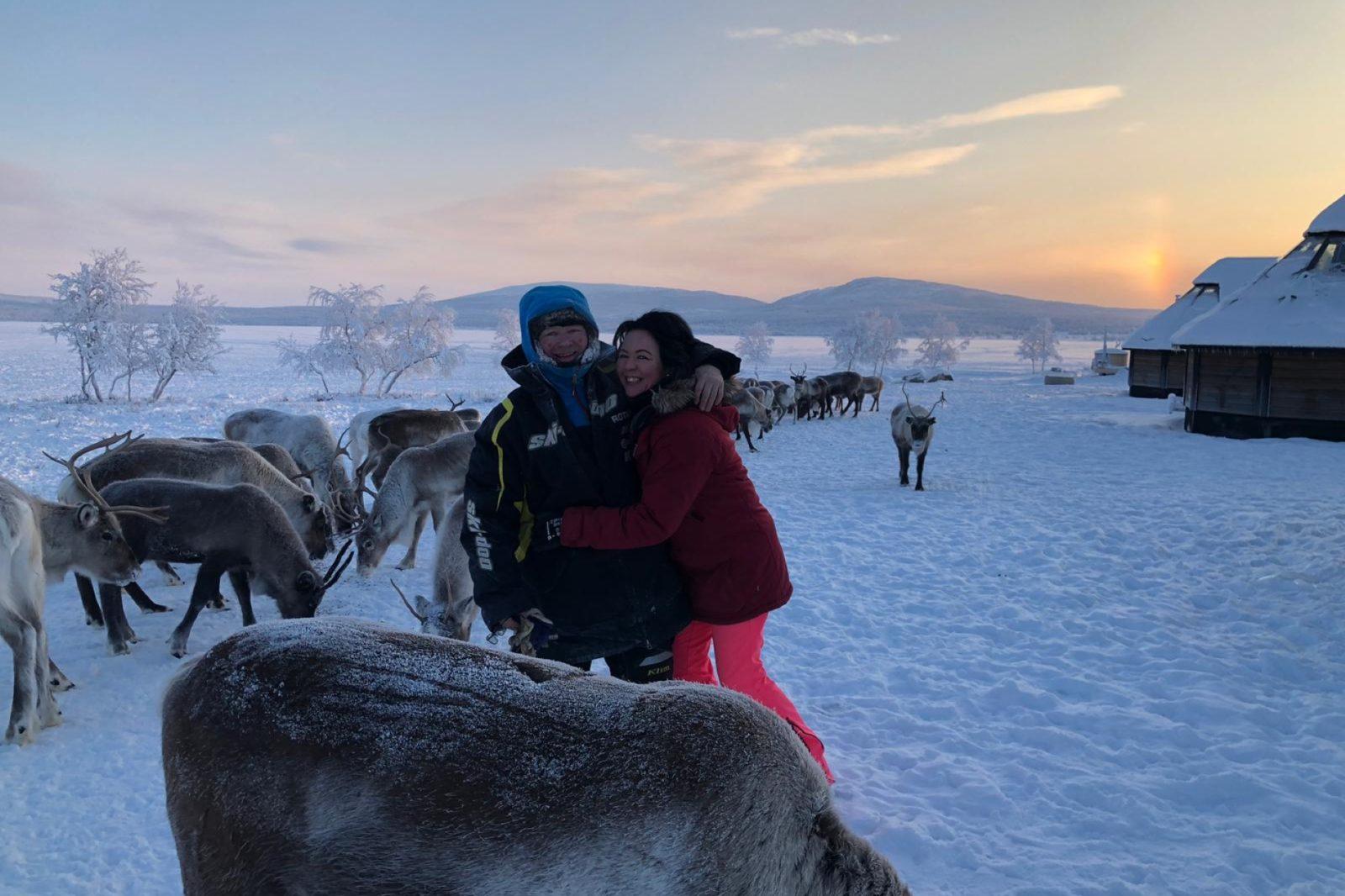 Arctic Land Adventure porot iglut emäntä ja isäntä